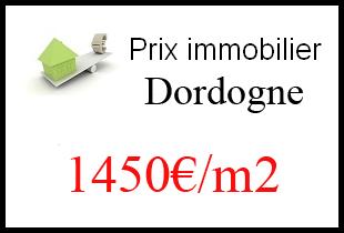 Le prix de l'immobilier en Dordogne (24)